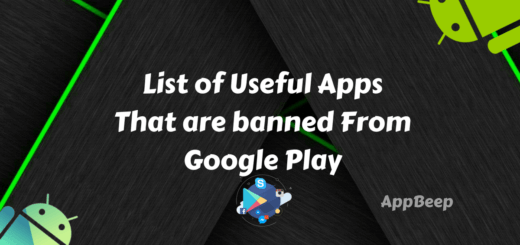 Best apps banned from Google Playstore