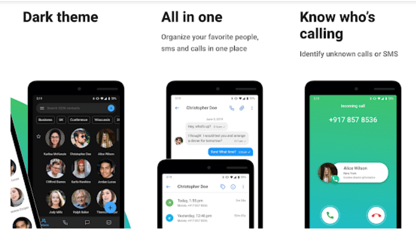 Contacts+ Contacts app