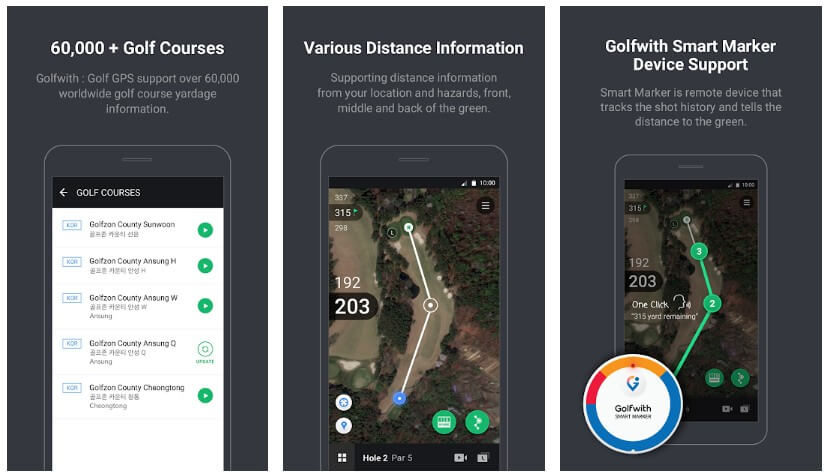 Golf rangefinder apps for android
