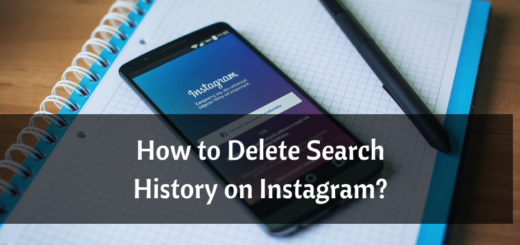 Deleting Instagram search History
